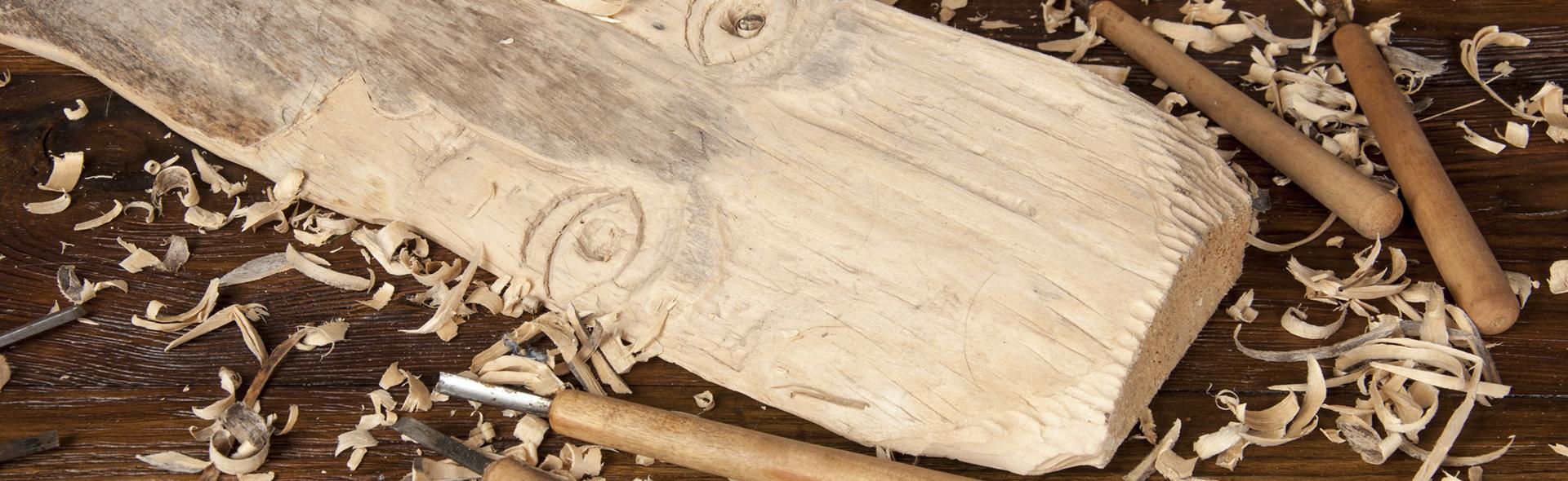 Objekte aus Massivholz